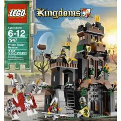 レゴは刑務所タワーレスキュー7947を王国