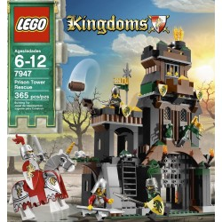 lego kingdoms prison tower rescue 7947