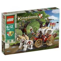 レゴ王国7188王のキャリッジ待ち伏せ