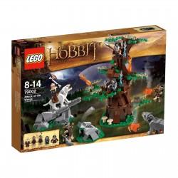 Lego Hobbit 79002 uzbrukums no wargs