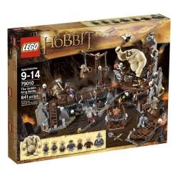 lego Hobits 79010 goblinu karalis kaujas