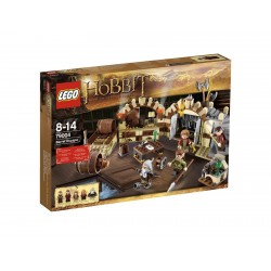 lego hobbit 79004 barrel escape