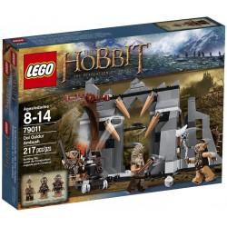 lego hobbit 79011 dol Guldur ambuscadă