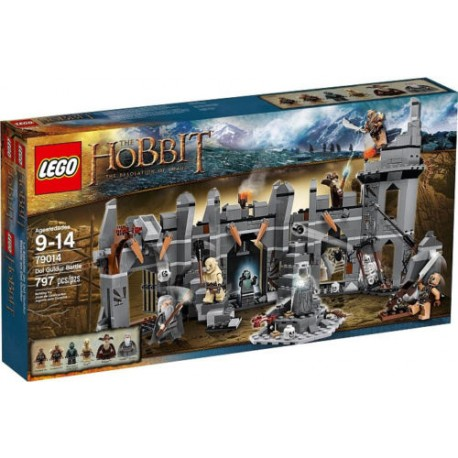 lego hobbit 79014 dol guldur battle
