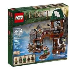 lego Hobbit 79016 uzbrukumu ezeru pilsēta