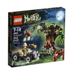 LEGO čudovište borci 9463 vukodlaka