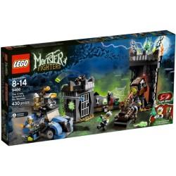 LEGO čudovište borci 9466 ludi znanstvenik i njegov čudovište
