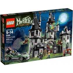lego Monster Fighters 9468 Vampyre château