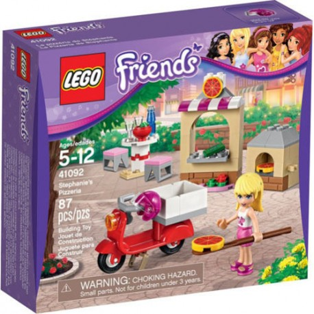 LEGO Friends 41092 Stephanie's Pizzeria 41092 New In Box Sealed