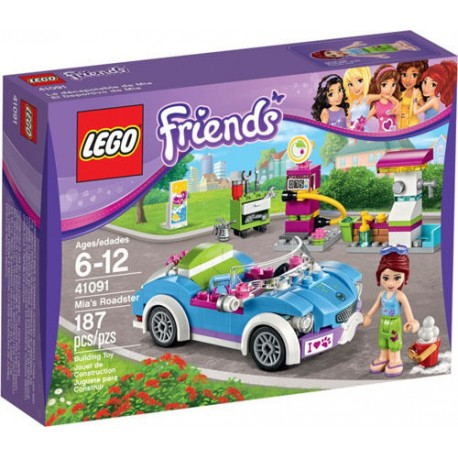 LEGO Friends 41091 Mia's Roadster 41091 New In Box Sealed