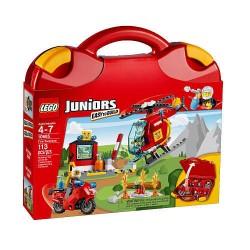 lego juniorok tűz bőrönd 10685