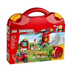 lego juniors fire suitcase 10685