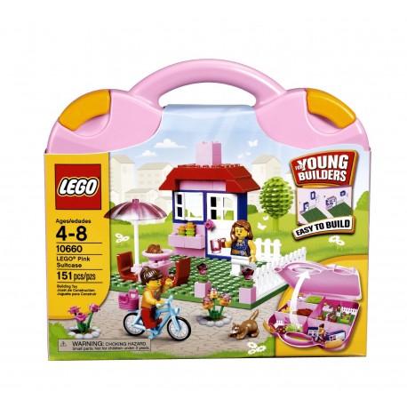 lego City pink suitcase 10660