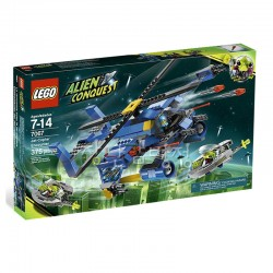 Lego Alien Conquest 7067 Jet-Copter Encounter Mint in Sealed Box