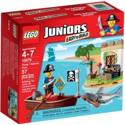 lego juniorok 10679 kalóz kincsvadászat
