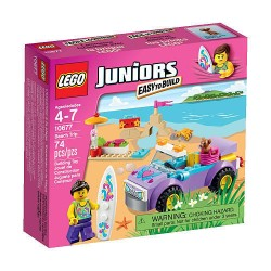 lego juniorok strand utazás 10677