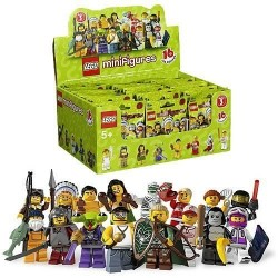 lego 8803 Minifigures Series 3 no Mystery Pack