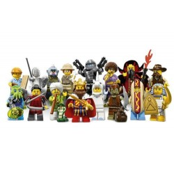 lego 71008 minifigures series 13 of mystery pack (foil pack)
