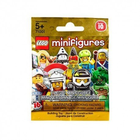 lego 71001minifigures series 10 of mystery pack (foil pack)