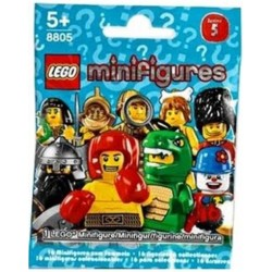 lego 8805minifigures series 5 of mystery pack (foil pack)