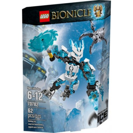 lego bionicle 70782 protector of ice