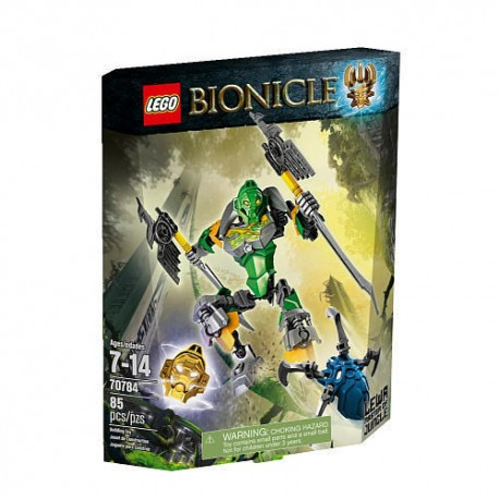 lego bionicle lewa master of the jungle 70784