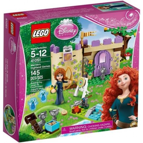 lego disney princess merida's highland games 41051