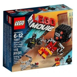 lego movie batman and super angry kitty attack 70817