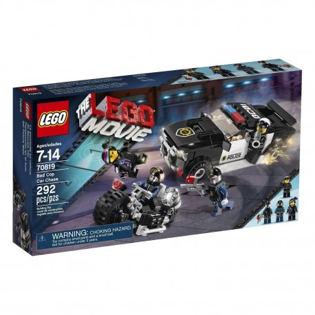 lego movie bad cop car chase 70819