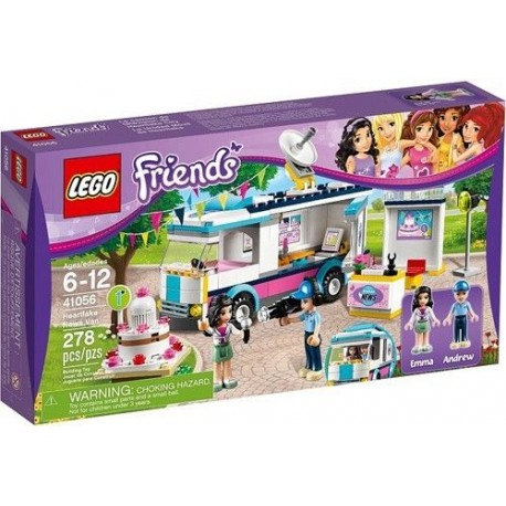 LEGO Friends 41056 Heartlake News Van New In Box Sealed