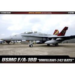 USMC F/A-18D 'VMFA(AW)-242 BATS' 1/32 academy 12118