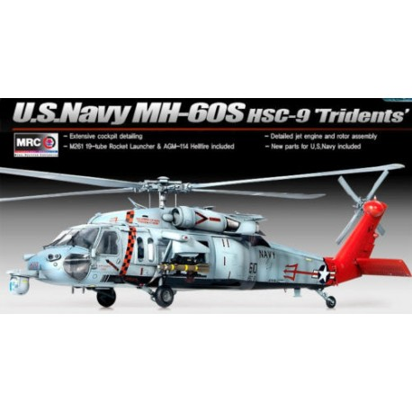 academy /35 US navy MH-60S HSC-9 tridents mrc12120