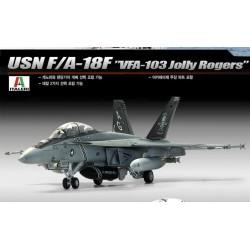 USNのF / A-18F VFA-103 jolltyロジャース1/48アカデミー12309