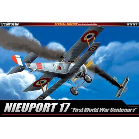 nieuport 17 first world war centenary(12121) 1/32 academy