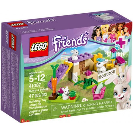 LEGO Friends 41087 Bunny and Babies 41087 New In Box Sealed