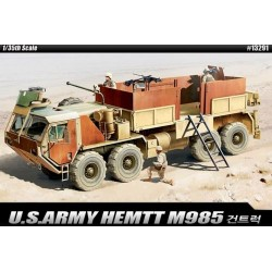 Yhdysvaltain armeijan M985 ase kuorma (13291) 1:35 Academy