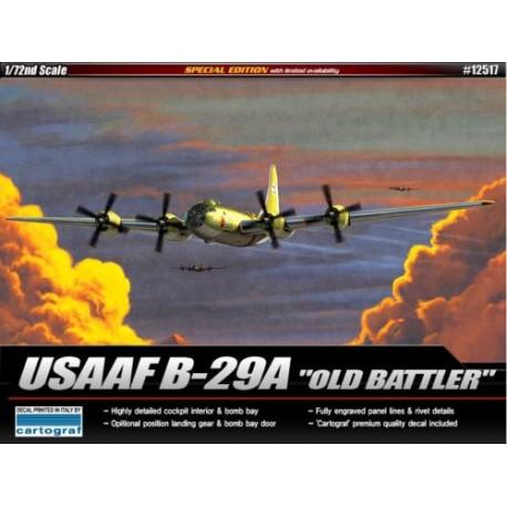 1/72 USAAF B-29 'old battler' 1/72 academy 12517
