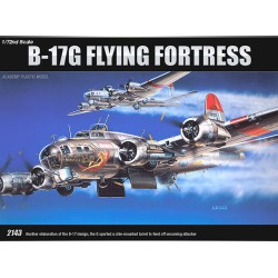 akademi 1/72 B-17G flyvende fæstning 12490 NIB