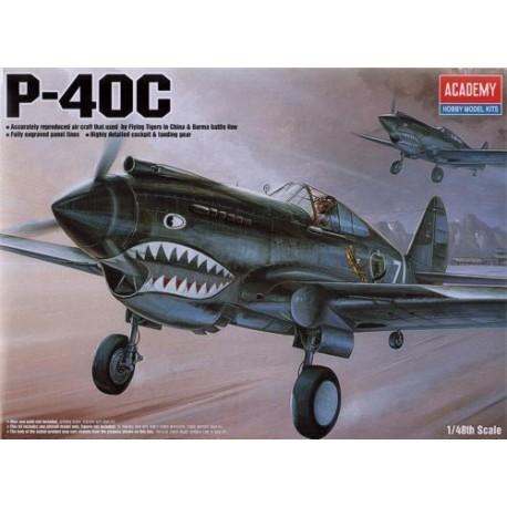 academy 1/48 curtiss P-40C tomahawk 12280