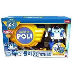 robocar poli deluxe transformer base set
