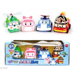 robocar poli baby bath water gun soft toy