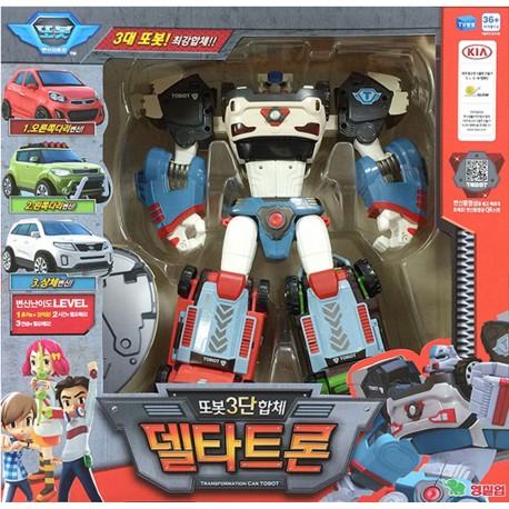 tobot deltatron transformer robot toy X & Z & D 3 copolymers kia delta tron