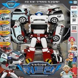 tobot quadrante 4 copolimeri trasformatore robot CWXY auto giocattolo pressofuso