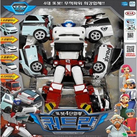 tobot quadrant 4 copolymers transformer robot CWXY diecast toy car