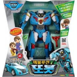tobot Y evolution bil transformator robot leksak