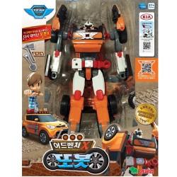 aventura tobot X coches transformador robot transformación