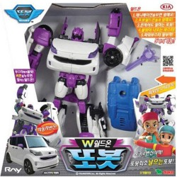tobot W shield on transformer robot transforming car robot