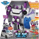 tobot W shield on transformer robot transforming car robot