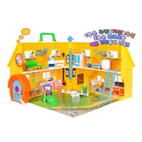 pororo fun play house baby toys mini toy set