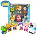 pororo & friends bath toy (6pcs)
